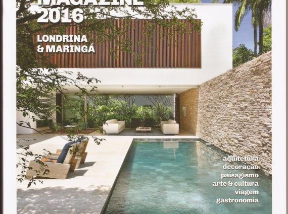 Anuário Da Revista Home Magazine 2016. Capa Da Revista